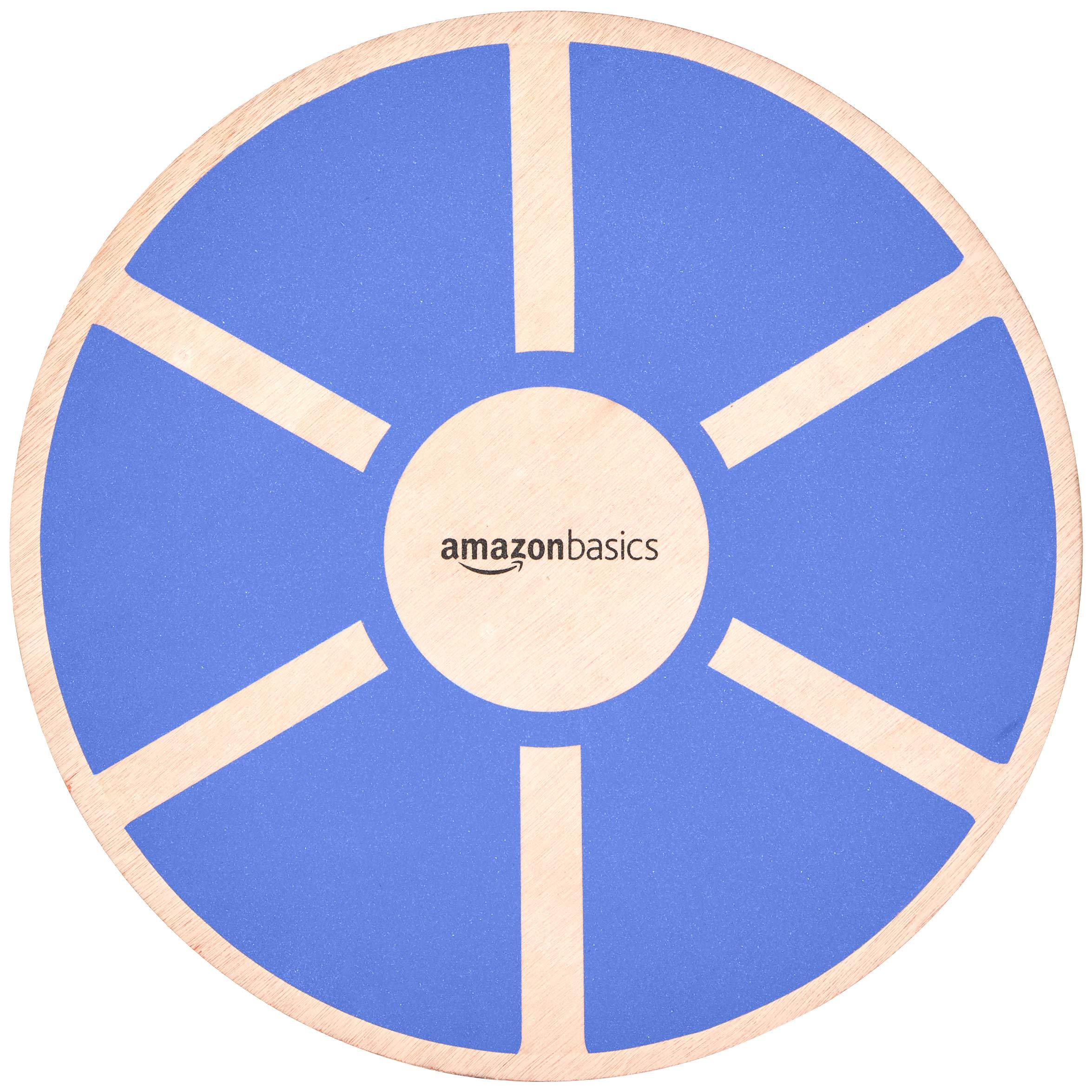 Amazon Basics Wood Wobble Exercise Balance Board