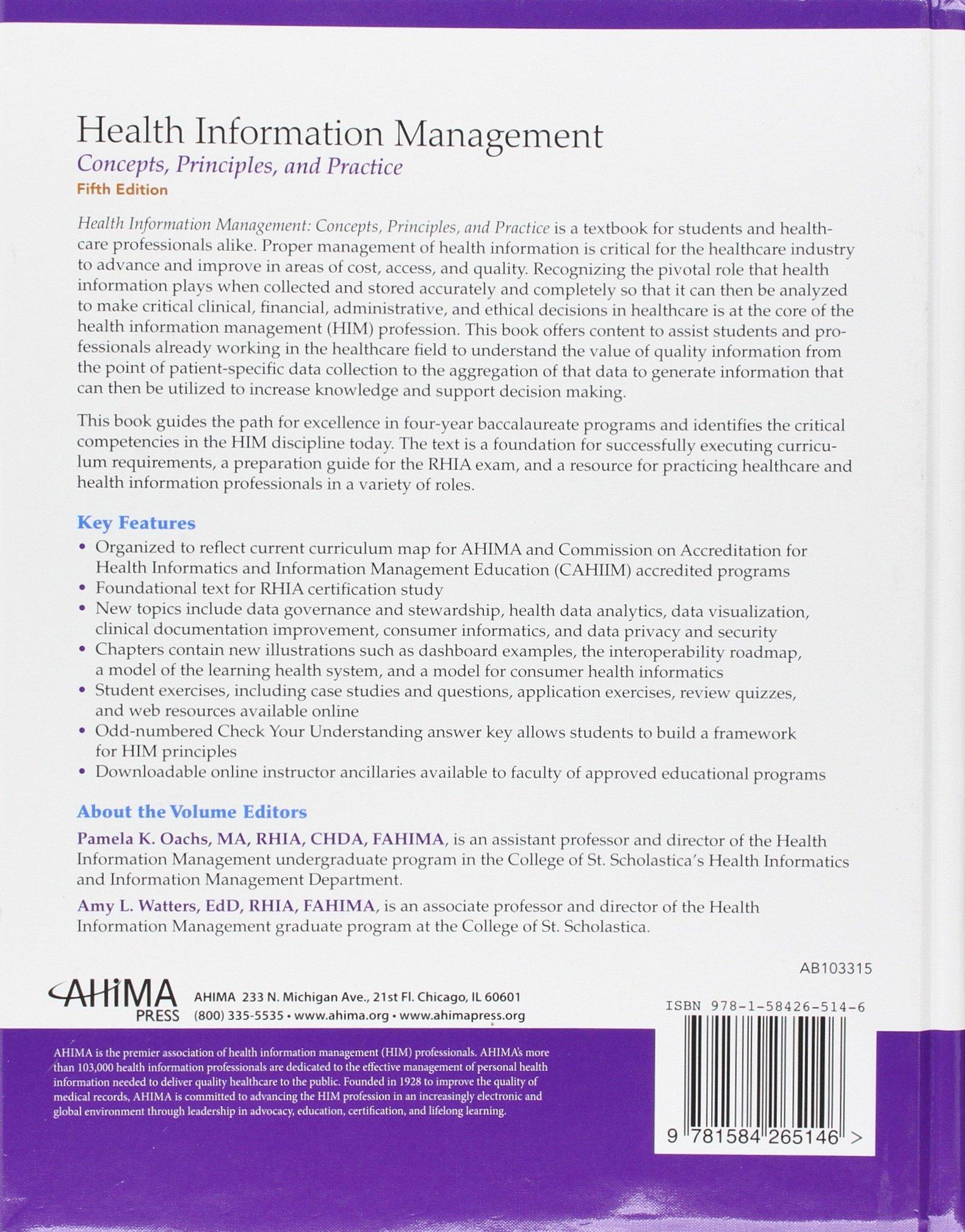 Buy health information management concepts principles and buy health information management concepts principles and practice book online at low prices in india health information management concepts xflitez Choice Image