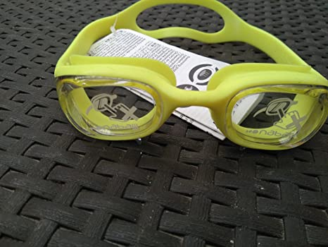ae84fc2a57 Buy Nabaiji Xbase Easy Swimming Goggles - Yellow Online at Low Prices in  India - Amazon.in