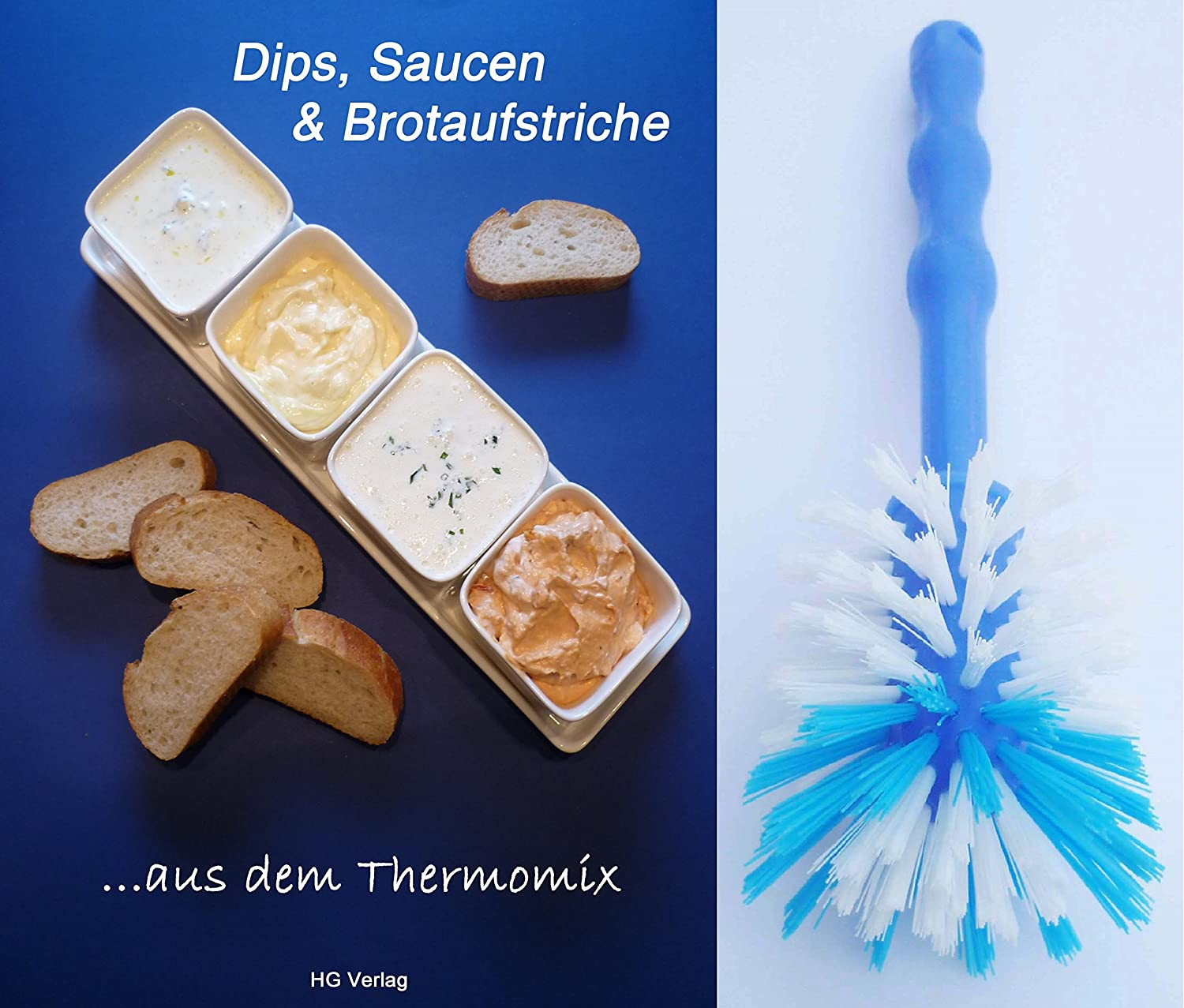 Set-unidades, salsas & pastas ... De la Thermomix + cepillo TM21 TM31 TM5: Amazon.es