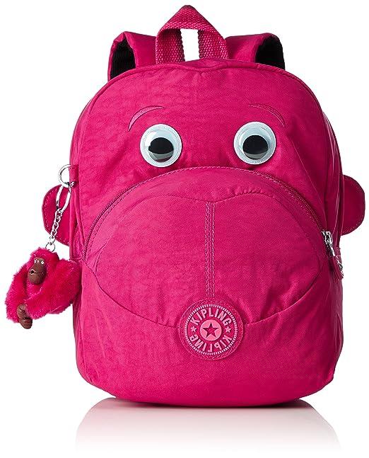 2 opinioni per Kipling- FAST- Zainetto per bambini- Cherry Pink Mix- (Rosa)