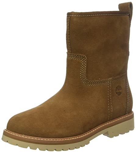 Timberland Womens Chamonix Valley Winter Suede Boot Calf Waterproof Boot -  Dark Rubber - 10 17bbe6248f81