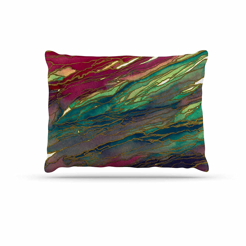KESS InHouse EBI Emporium Marble Idea -Lavender Pink Purple Geological Dog Bed, 30  x 40