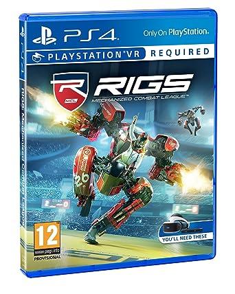 Juego Videoconsola Ps4 Rigs Mechanized League Vr Amazon Co Uk Pc