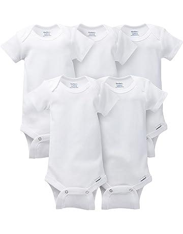 bed8ff19d2f Gerber Baby 5-Pack Solid Onesies Bodysuits.  2