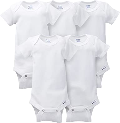 Gerber Baby-Girls 6-Pack Long-Sleeve Mitten-Cuff Onesies Bodysuit Infant-and-Toddler-Bodysuits