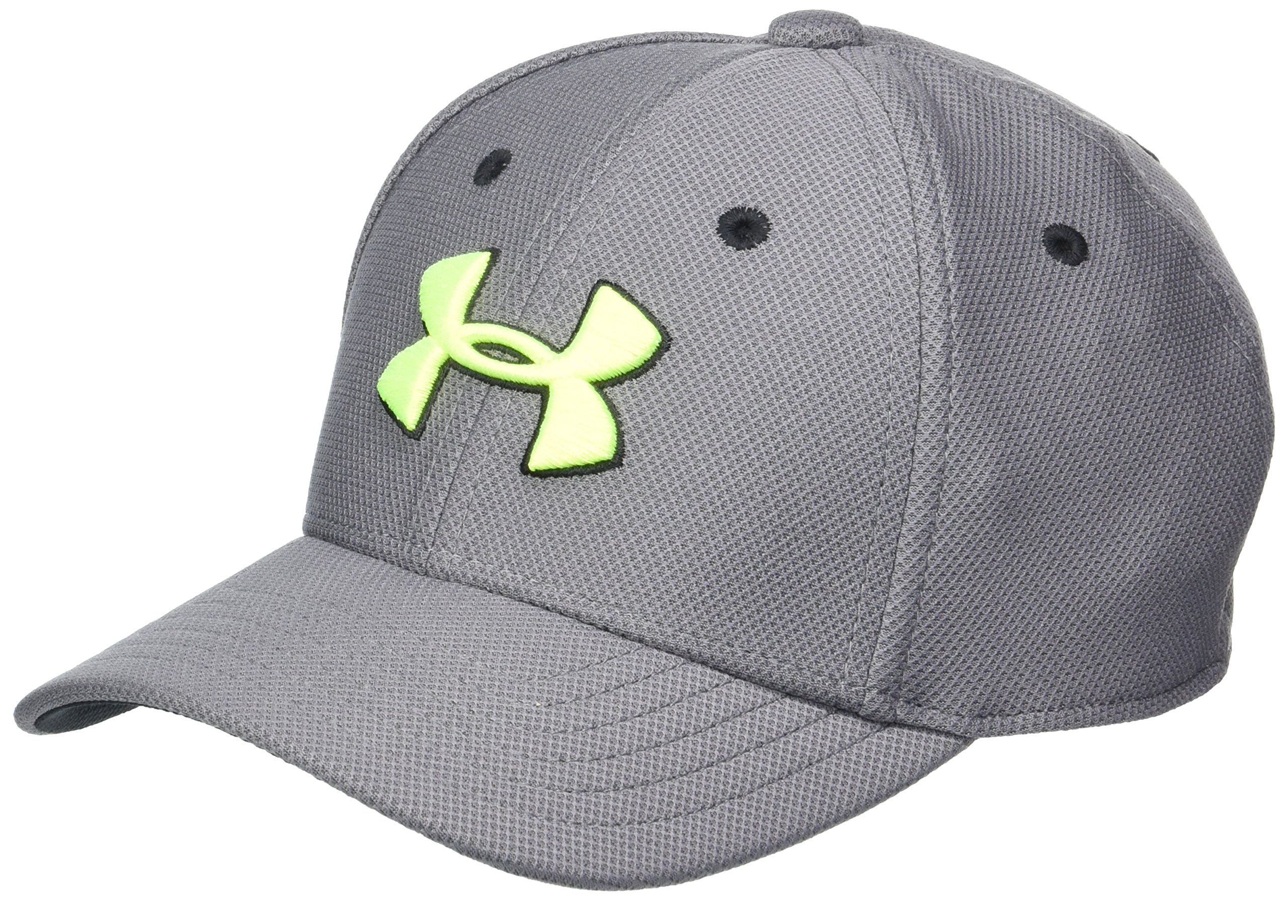 Under Armour Baby Boys Baseball Hat, Graphite1, 1-3 by Under Armour