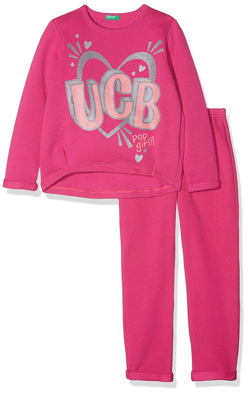 United Colors of Benetton Set Sweater+Trousers, Conjunto para Niñas (Pack de 2): Amazon.es: Ropa y accesorios
