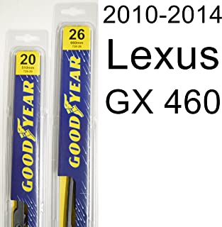 "product image for Lexus GX 460 (2010-2014) Wiper Blade Kit - Set Includes 26"" (Driver Side), 20"" (Passenger Side) (2 Blades Total)"