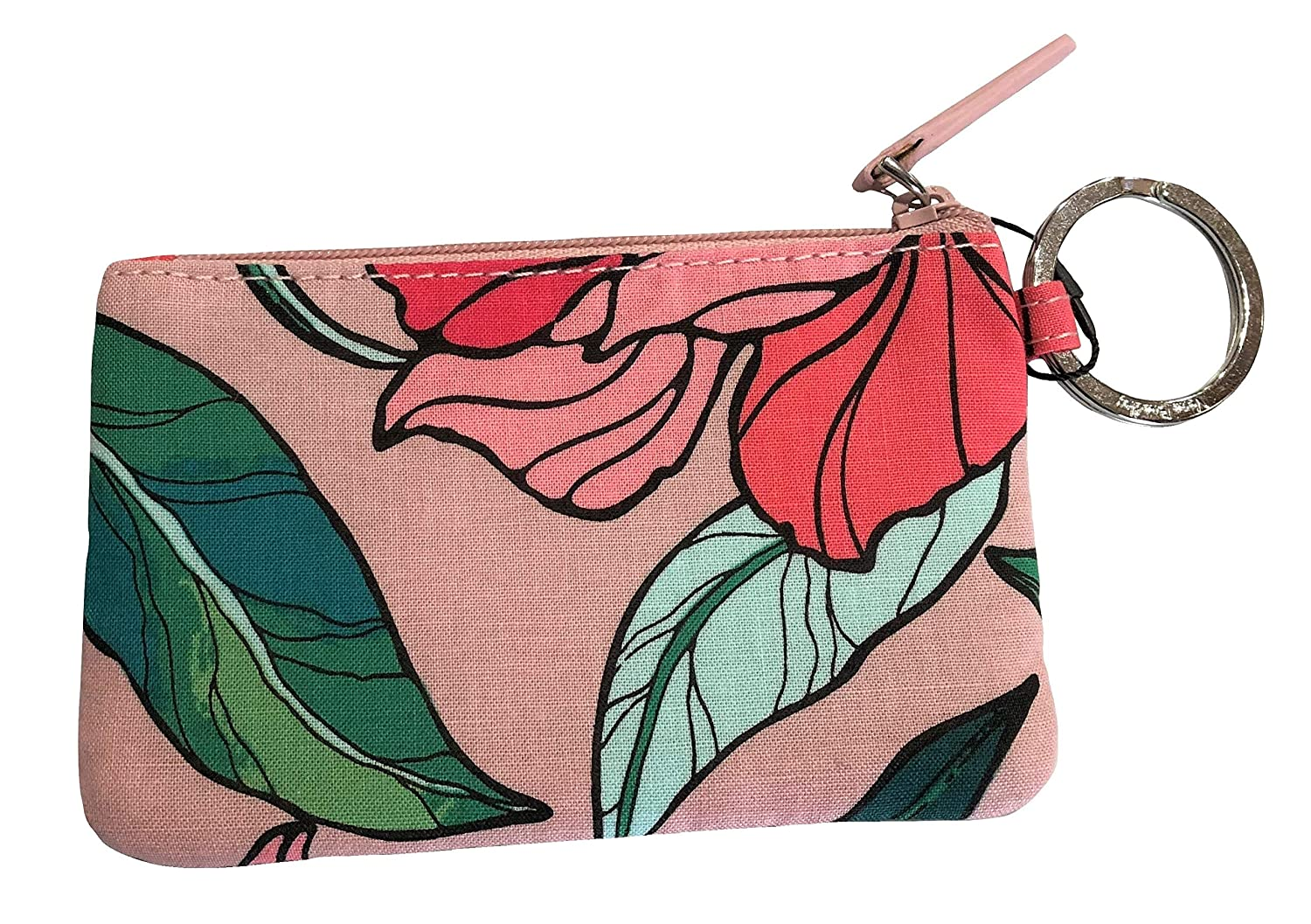Amazon.com: Vera Bradley Zip ID Case, Signature Cotton ...