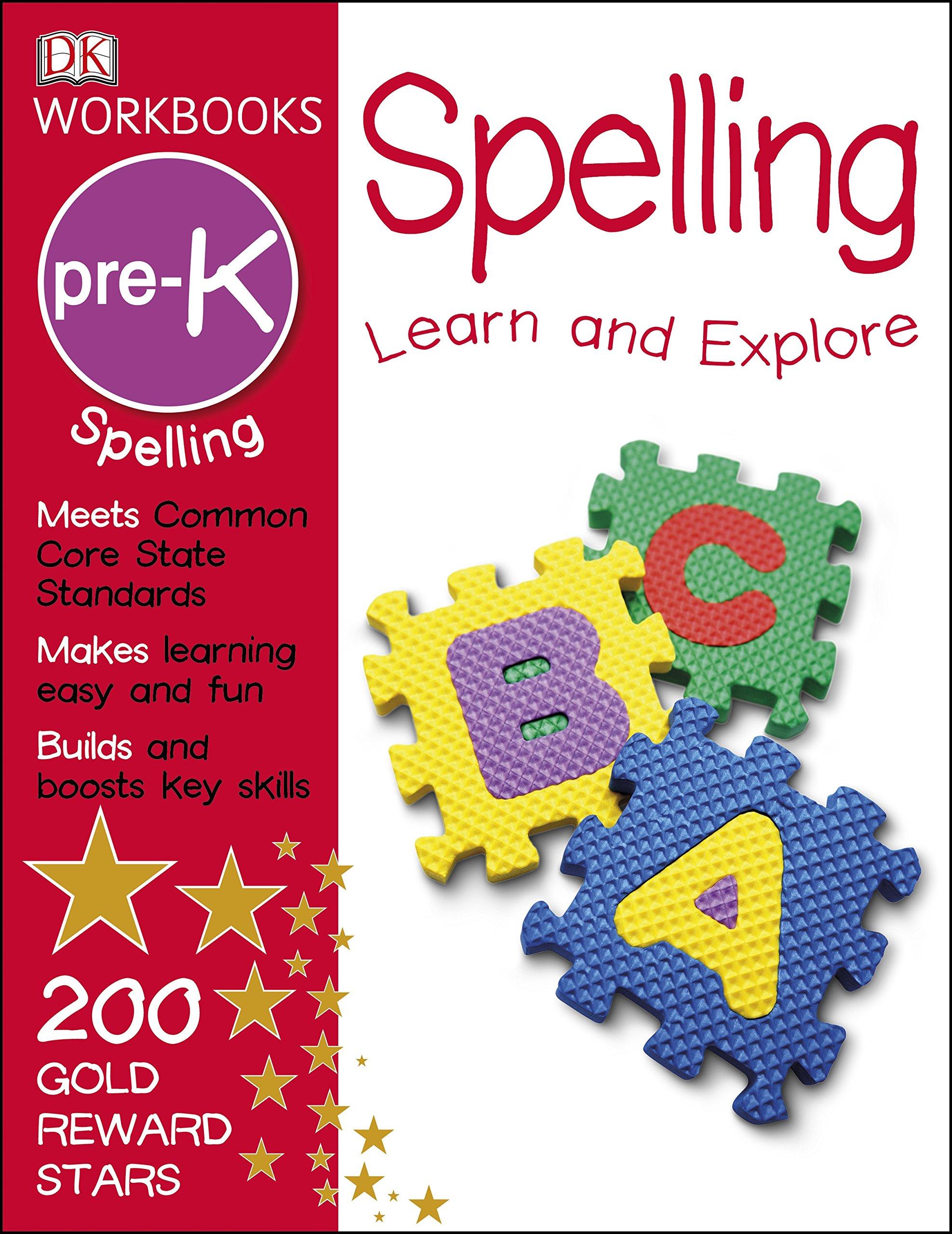DK Workbooks Spelling Pre K