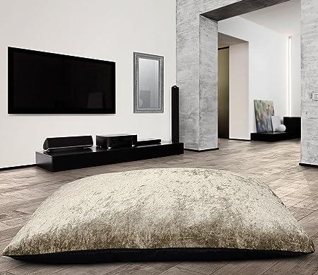 Large Anti Slip Jumbo Crushed Velvet Floor Cushion Pet Bed Pillow ...