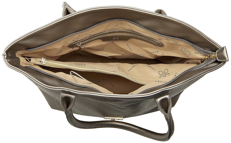 88ccd73c11 Addons Women s Tote Bag (Gunmetal)  Amazon.in  Shoes   Handbags