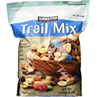 Signature Trail Mix, Peanuts, M and M Candies, Raisins, Almonds and Cashews, 4 Pound (249965)