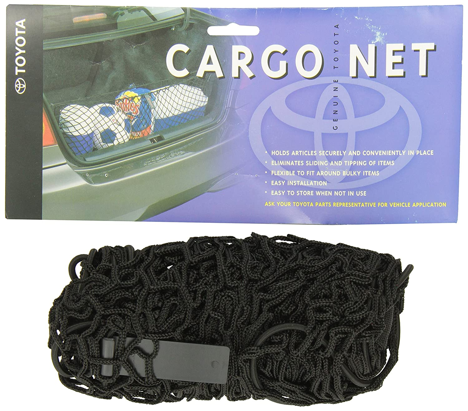 Genuine Toyota Accessories PT347-0T090 Cargo Net for Select Venza Models