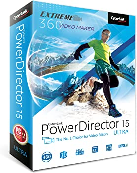 CyberLink PowerDirector 15 Ultra Software