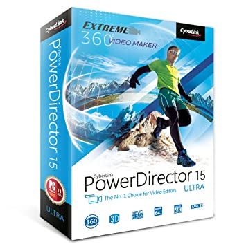 CyberLink PowerDirector 15 Ultra - The No 1 Choice For Video Editors (PC)