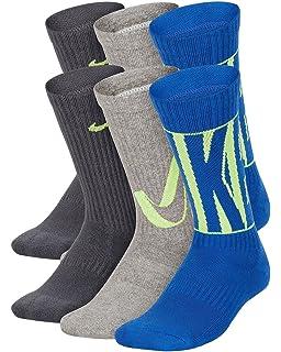 Amazon.com: Nike Performance Crew Older Kids Socks (3 Pair): Clothing