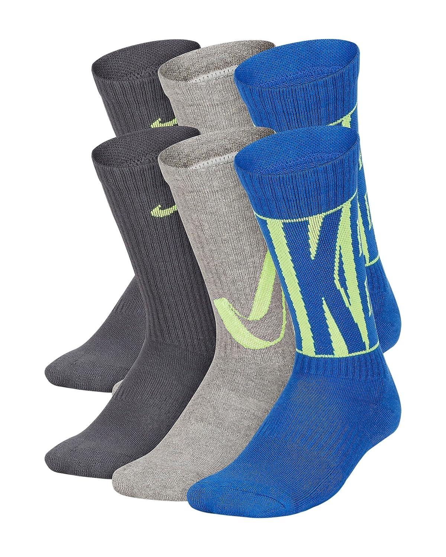 Nike Kids Everyday Cushion Crew Socks (6 Pairs)