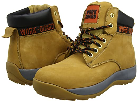 Resultado R344X Stealth seguridad Boot, Unisex, color Nubuck Tan, tamaño Size 11-46