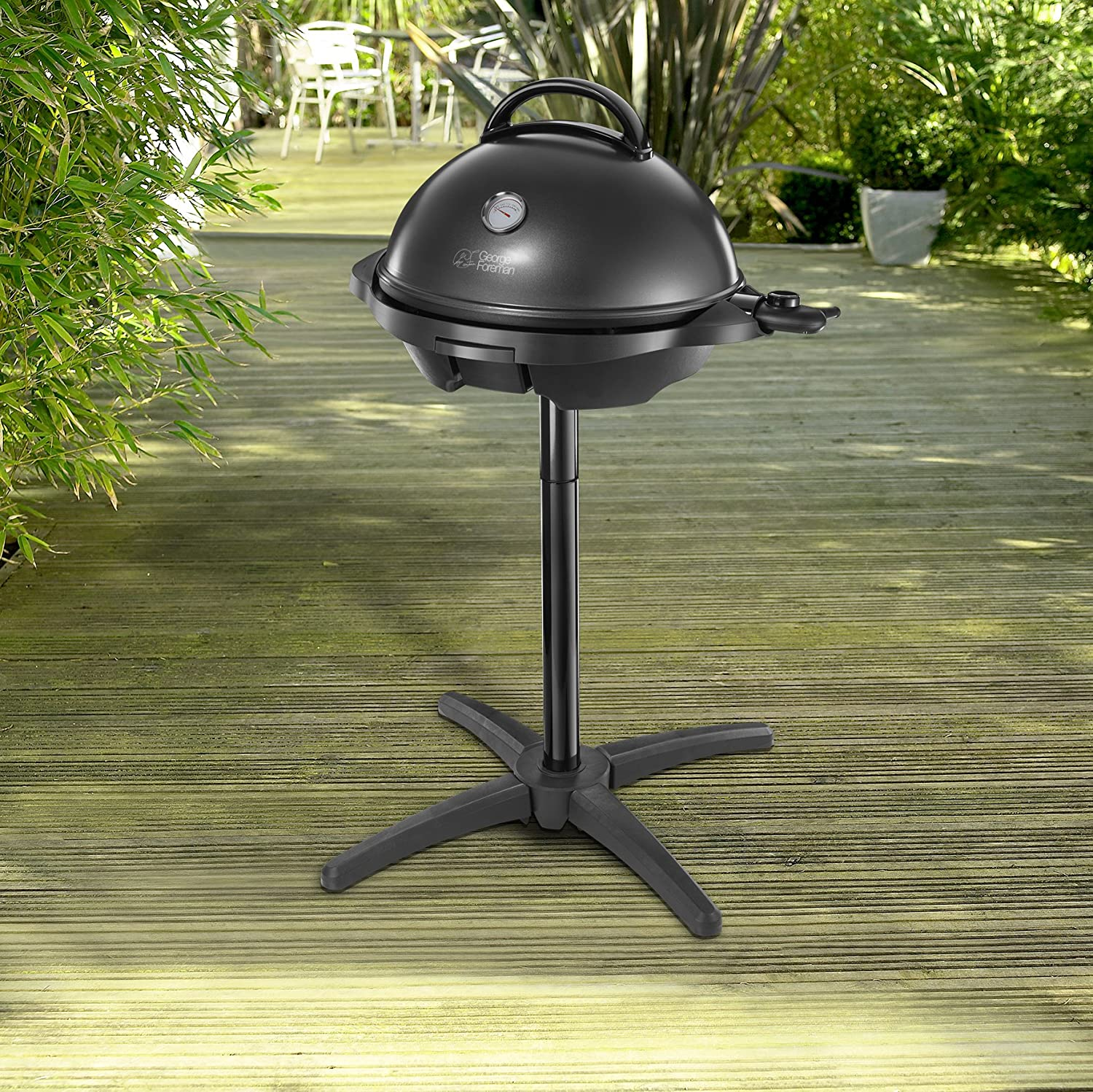 George Foreman 22460 Indoor and Outdoor Grill - Black by ...
