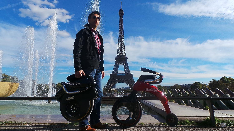 Bicicleta sin pedales eléctrica adulto yikebike Fusion: Amazon.es: Deportes y aire libre
