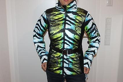 Sportalm Kitzbühel Damen Ski Jacke Venusians Grün Blau Größe