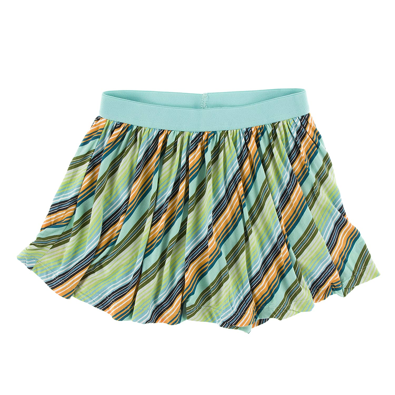 Kickee Pants Print Swing Skort Cancun Glass Stripe - L-10//12