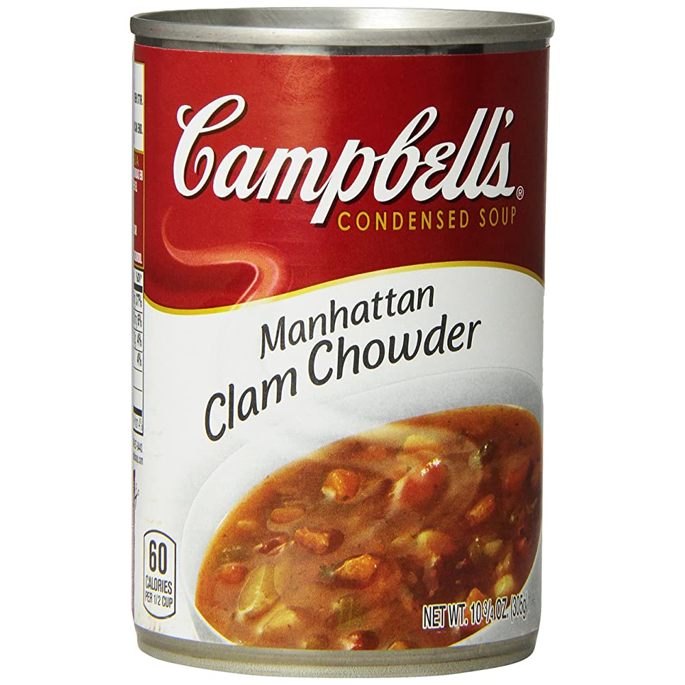 Campbell's Manhattan Clam Chowder Review