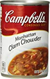 Campbell's Condensed Soup, Manhattan Clam Chowder, 10.75 Ounce (Pack of 12)