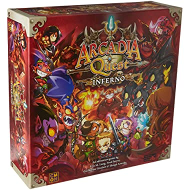 Cool Mini or Not Arcadia Quest Inferno Board Game
