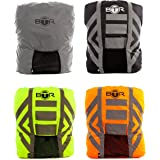 High Visibility Reflective 100% Waterproof Backpack Cover. Perfect Rucksack Cover For Low Light and Night Time Visibility. The BTR Backpack Cover is Only 100% Waterproof Cover YOU need to Be Seen