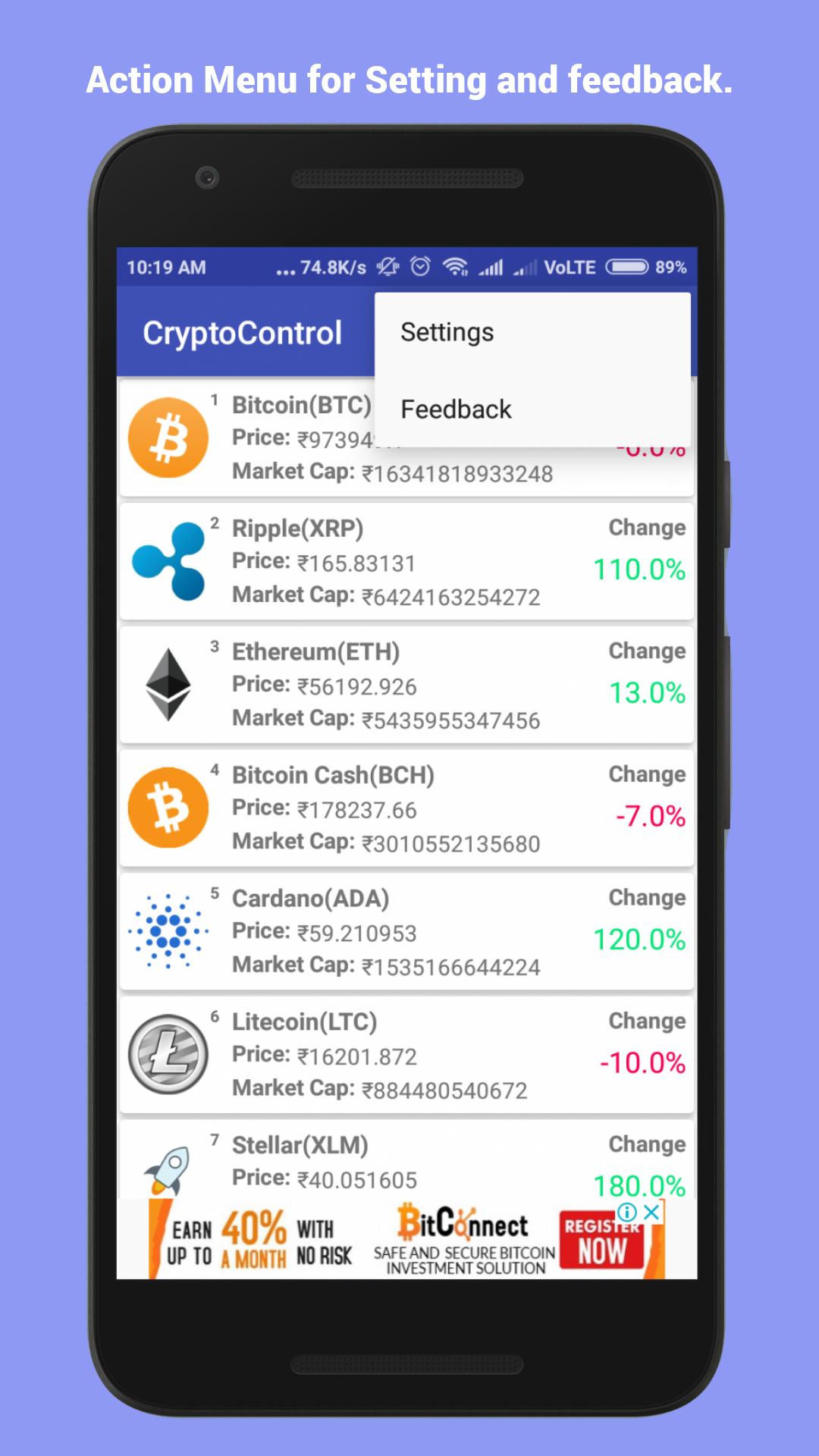 Crypto Control: Amazon.es: Appstore para Android