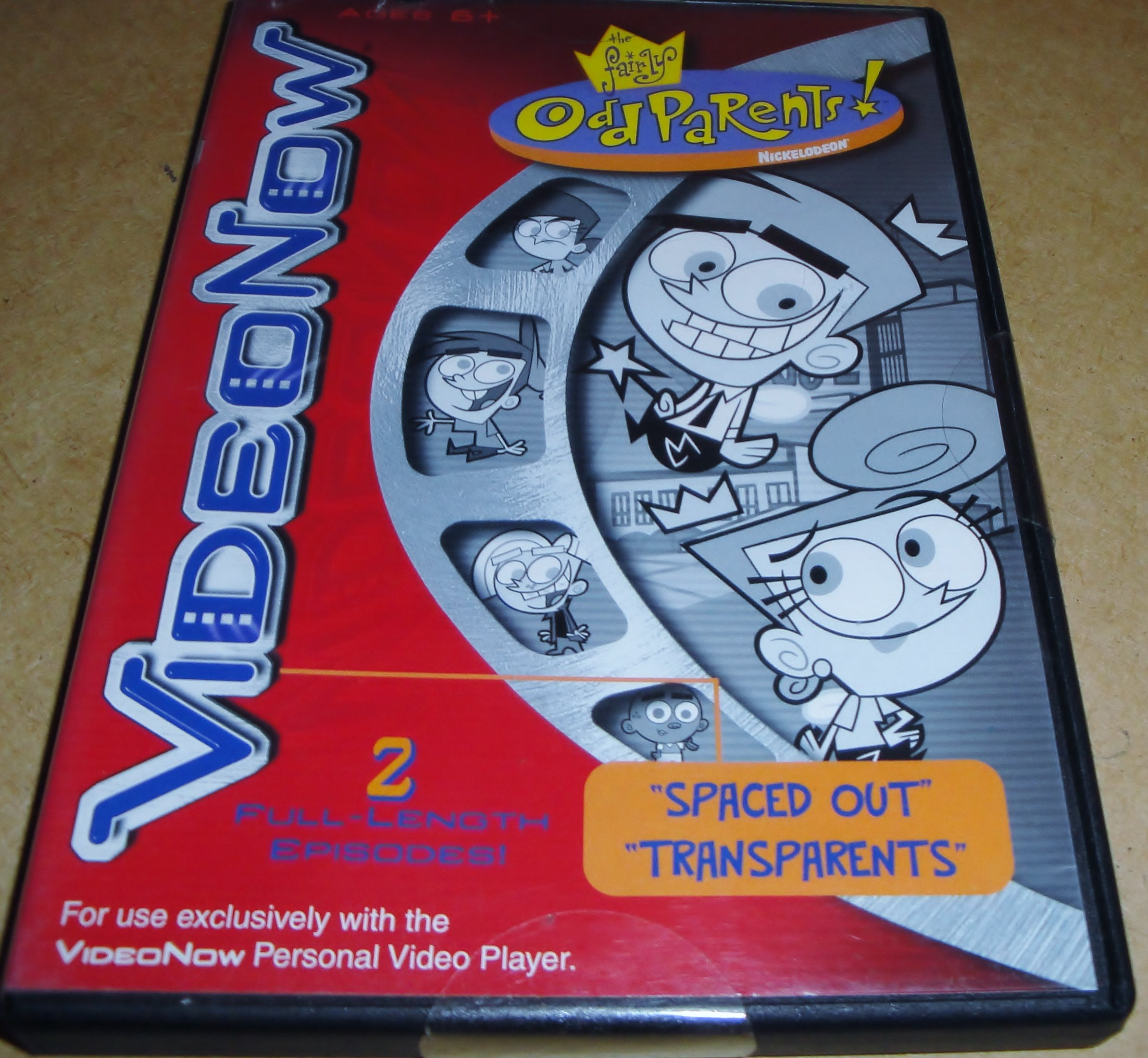 Nickelodeon Video Now The Fairly Odd Parents ''Spaced Out'' & ''Transparents'' by Video Now (Image #1)