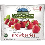 Cascadian Farm Organic Strawberries, 10 Ounce -- 12 per case.