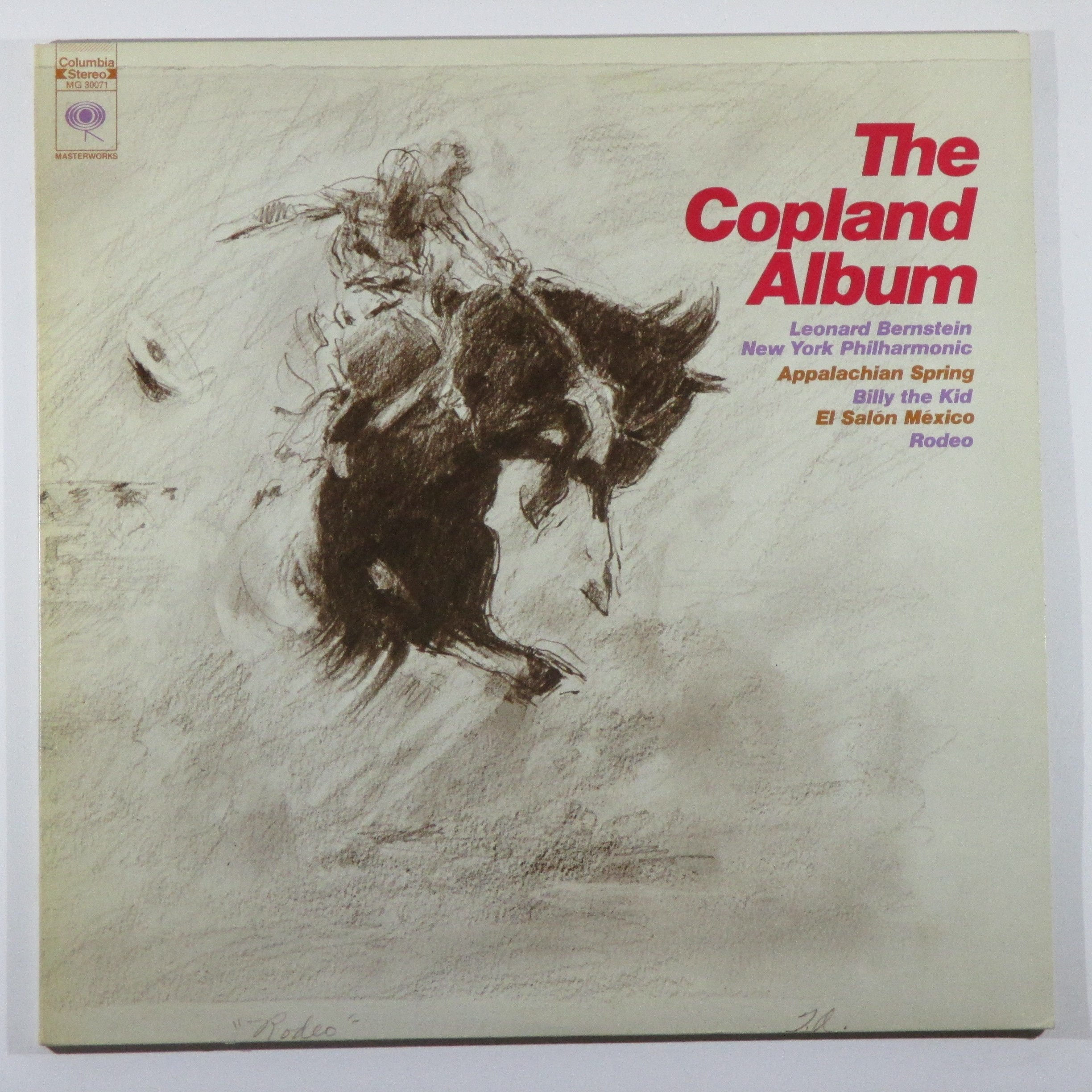 The Copland Album:  Appalachian Spring / Billy the Kid / El Salon Mexico / Rodeo by Columbia Masterworks