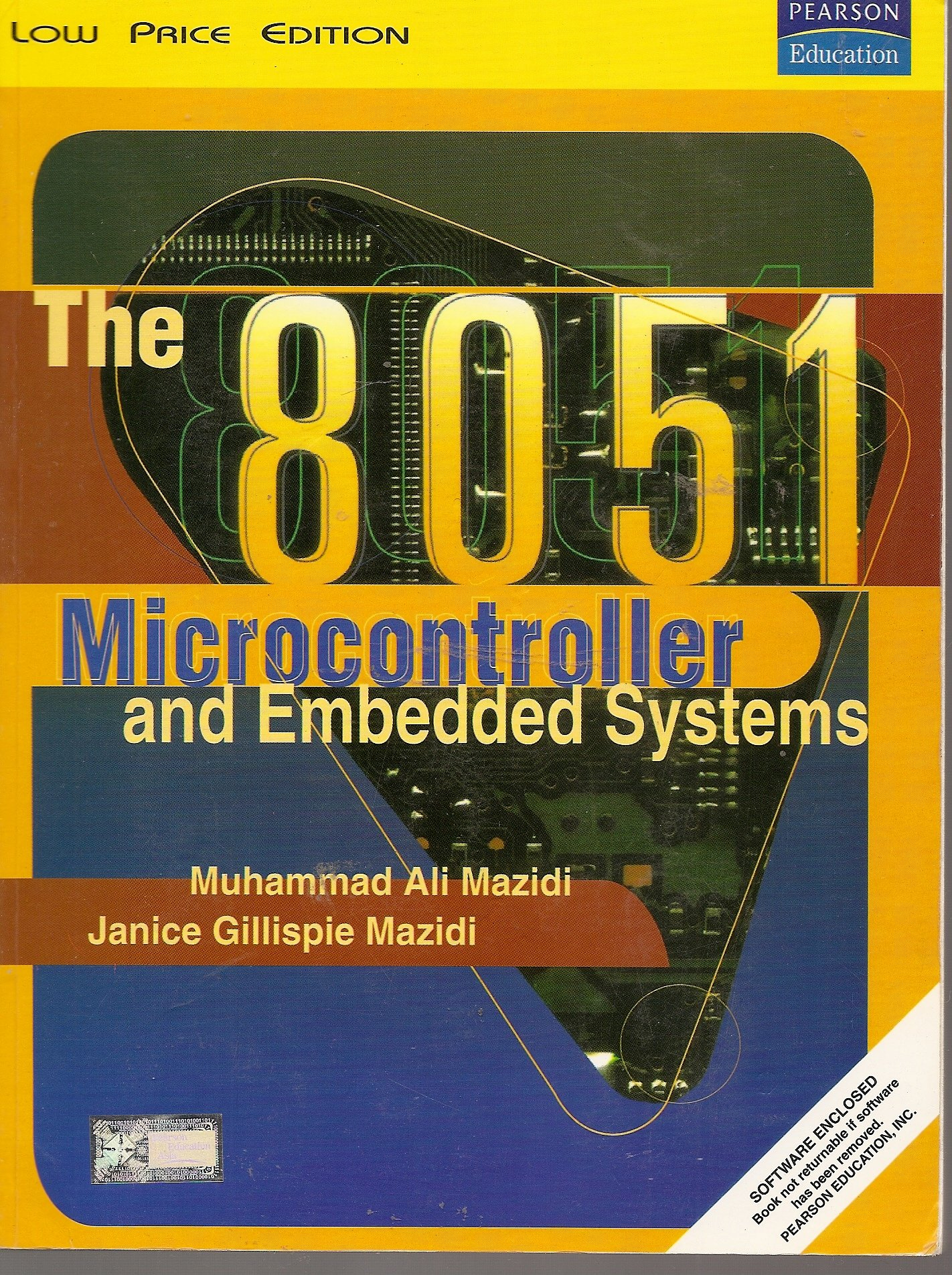 The 8051 Microcontroller And Embedded Systems With Software Paperback 2000