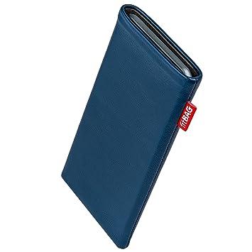 fitBAG Beat Royalblau Handytasche Tasche aus Echtleder Nappa mit Microfaserinnenfutter für Fairphone 2 Slim 2016 | Hülle mit