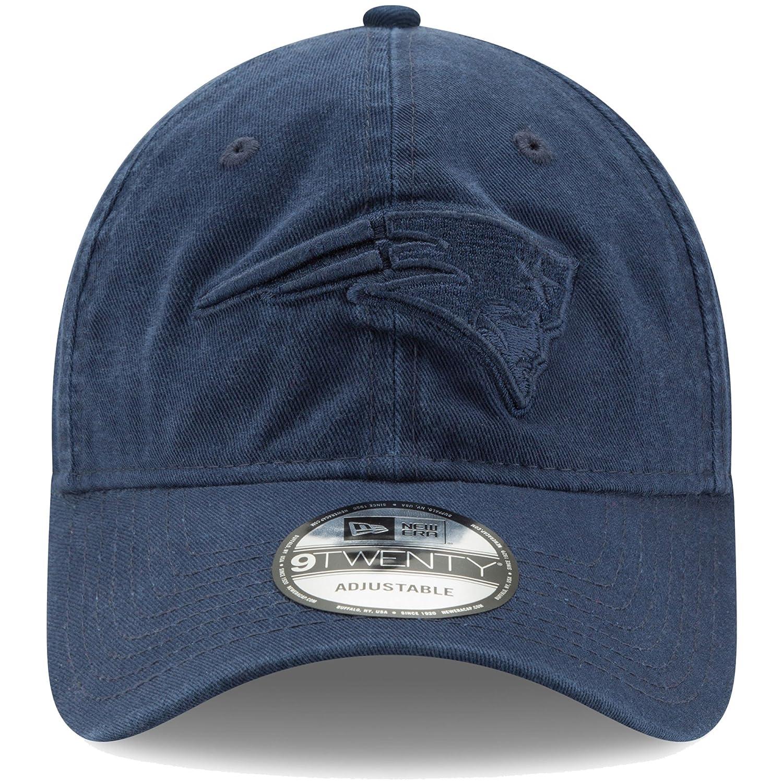 Amazon.com   New England Patriots New Era Core Classic Twill Tone 9TWENTY  Adjustable Hat Navy   Sports   Outdoors af5edce47