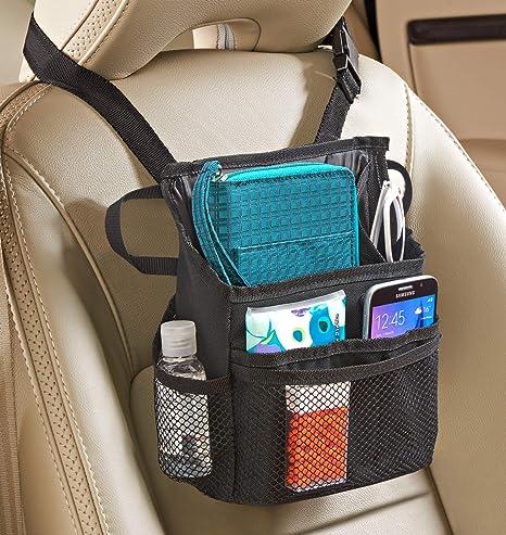 Car Auto Seat Back Multi-Pocket Storage Bag Organizer Holder Travel Hanger NF