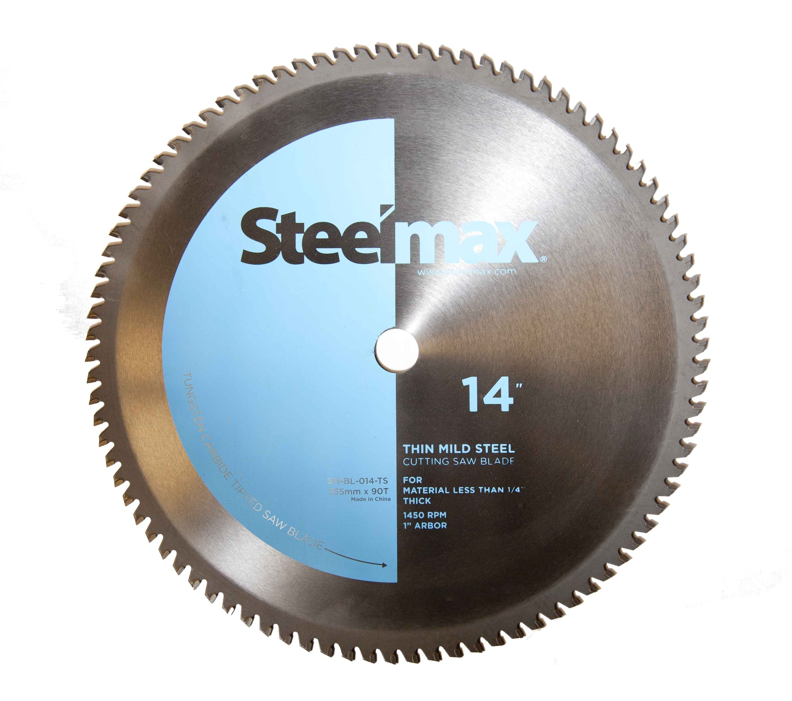 Steelmax 14'' TCT Blade for Thin Steel