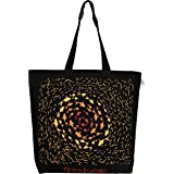 "EcoRight Reusable 100% Canvas Cotton EcoFriendly Large Tote Bag Printed""No Room for Plastic"""
