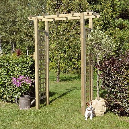 Pergola Rose arco recto (BxH) 160 x 210 cm de Gartenpirat ...