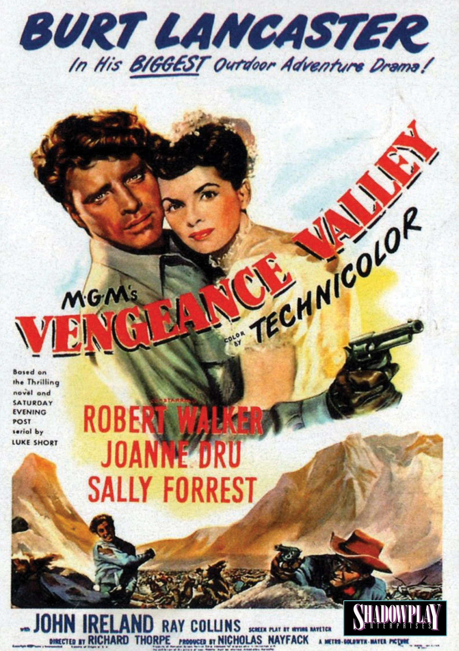 DVD : Burt Lancaster - Vengeance Valley (DVD)