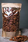 Raw Pecan Nut Halves, GMO free, collected from the organic area (700gr)