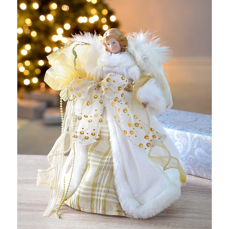 a forma di angelo Puntale per albero di Natale Image 2