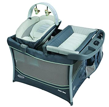 d62133c4bb1 Image Unavailable. Image not available for. Color  Graco Everest Pack  n  Play Playard ...