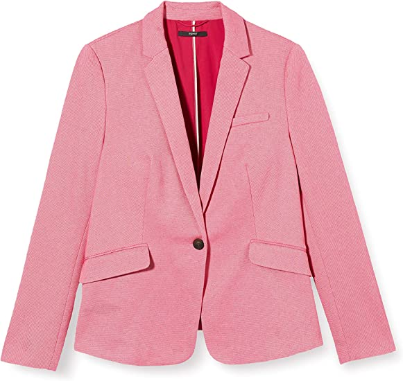ESPRIT Collection Blazer Informal de Negocios para Mujer: Amazon ...