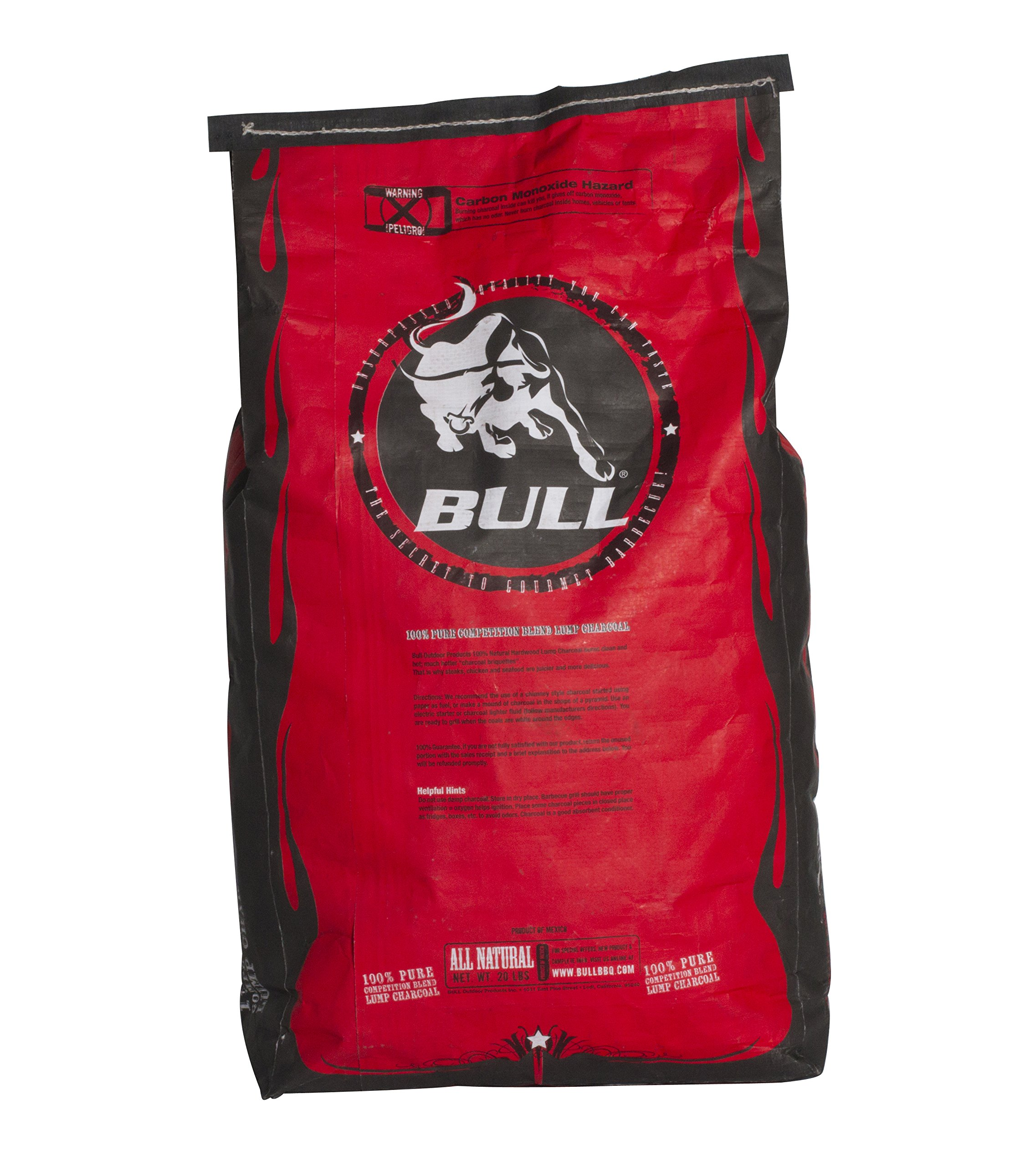 Bull Outdoor Products 100% Pure Competition Blend Lump Charcoal
