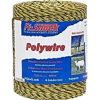 Fi-Shock Polywire - Hilo de Pesca (6 Hilos), 1 Paquete